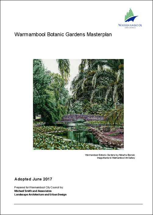 Warrnambool Botanic Gardens Masterplan